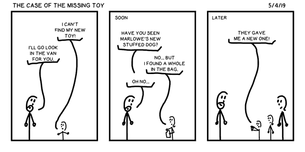 The Case of the Missing Toy