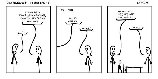 Desmond's First Birthday