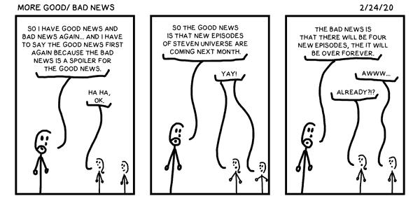 More Good/ Bad News