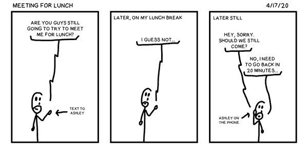 Meeting for Lunch
