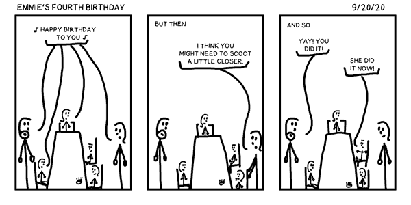 Emmie's Fourth Birthday