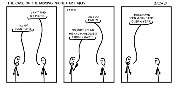 The Case of the Missing Phone Part 4835