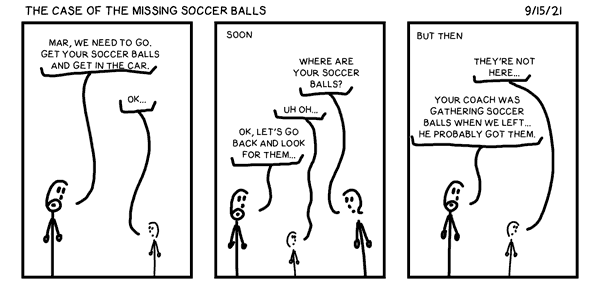 The Case of the Missing Soccer Balls